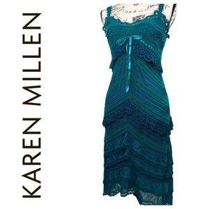 Karen Millen Crochet Boho Dress